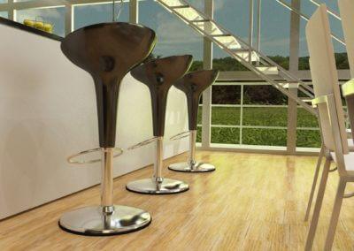 Küche Treppe V10i Der Moderne Olivenholzparkett V14i Der Robuste