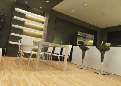 Küche V10i Der Moderne Olivenholzparkett V14i Der Robuste