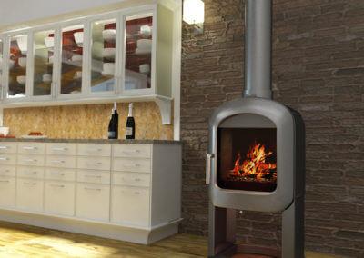 Küche V14 Der Designbewusste Olivenholzparkett Venato Extra Natura Semivenato. Grigio