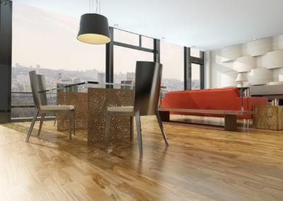 Wohnzimmer V14 Der Designbewusste Olivenholzparkett Venato Extra Natura Semivenato. Grigio