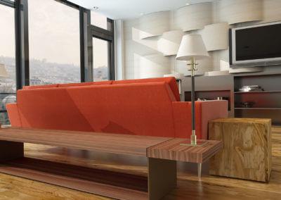 Wohnzimmer V14 Der Designbewusste Olivenholzparkett Venato Extra Natura Semivenato. Grigio4