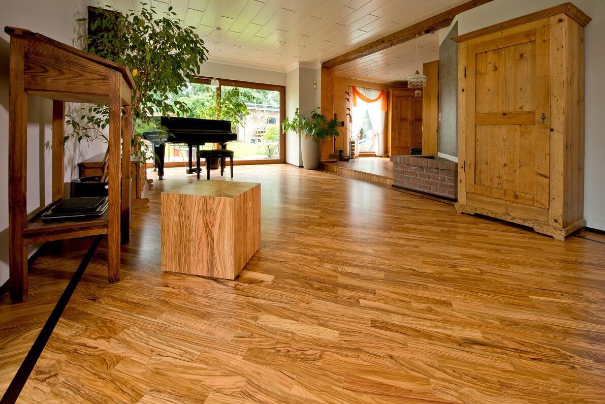 Individuelles Wohnen mit Olivenholz Parkett - (Oliven) Holz statt Plastik