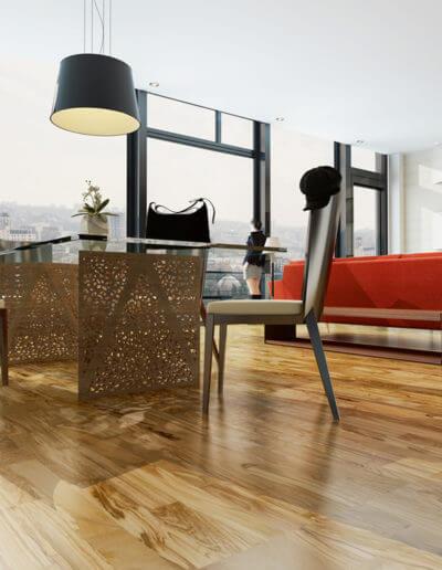 """""""Dolce Vita"""" für zu Hause Olivenholzparkett sorgt für italienisches Lebensgefühl (Foto: epr/olivenholzparkett.de)"""